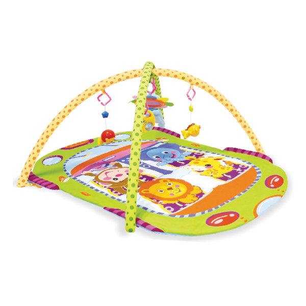 """Lorelli Toys Бебешка активна гимнастика - Тепих за игра """"АВТОБУС"""" 1030027"""
